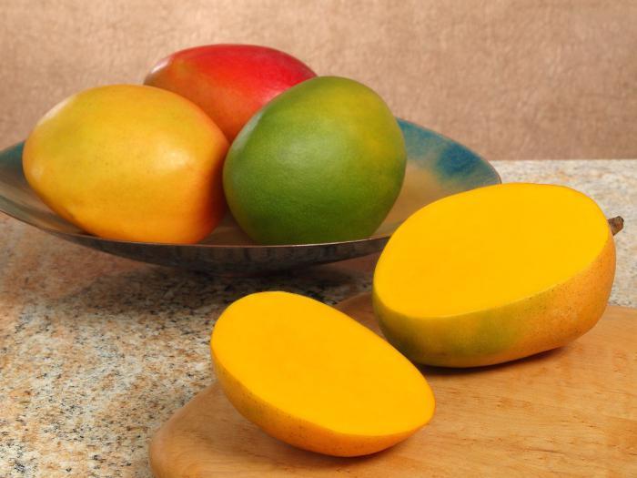 манго фрукт как есть