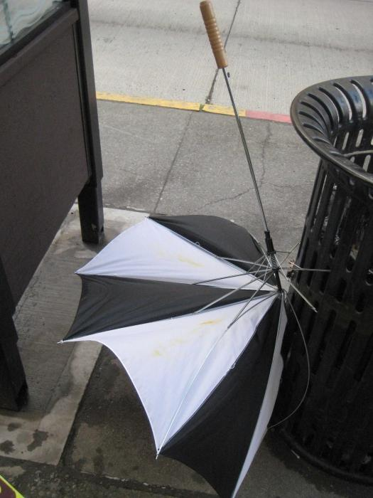ремонт зонта-автомата своими руками