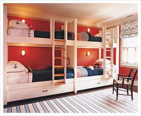 двухъярусные кровати для двоих детей