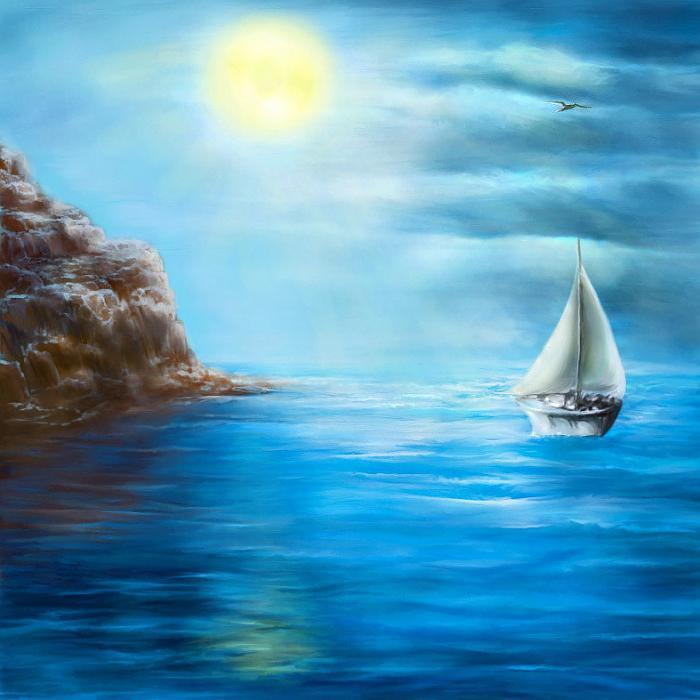 Картинки паруса из стиха лермонтова