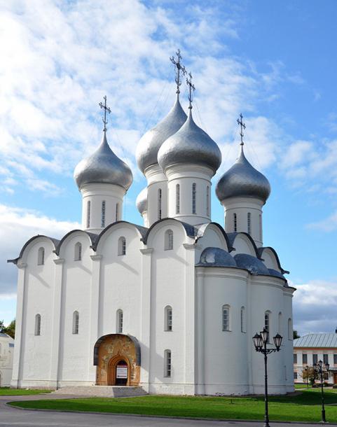 Кафедральный софийский собор в Вологде
