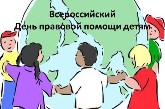 план мероприятий день правовой помощи детям