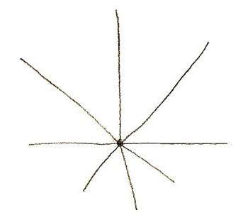 как рисовать кленовый лист