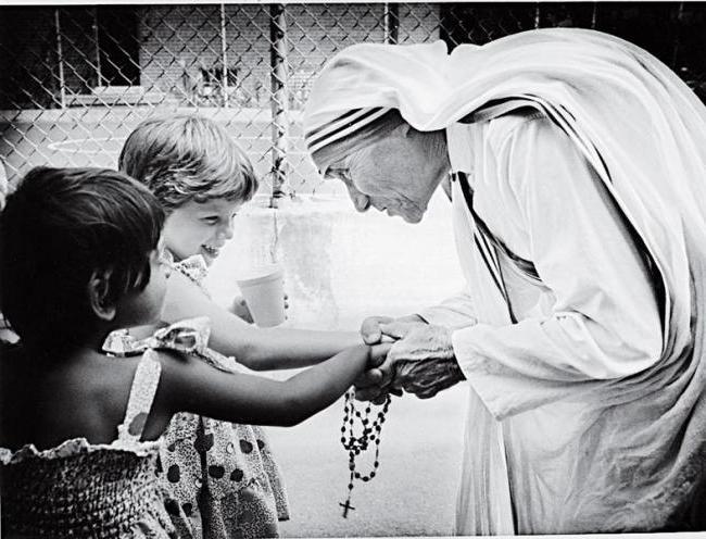 молитва матери Терезы