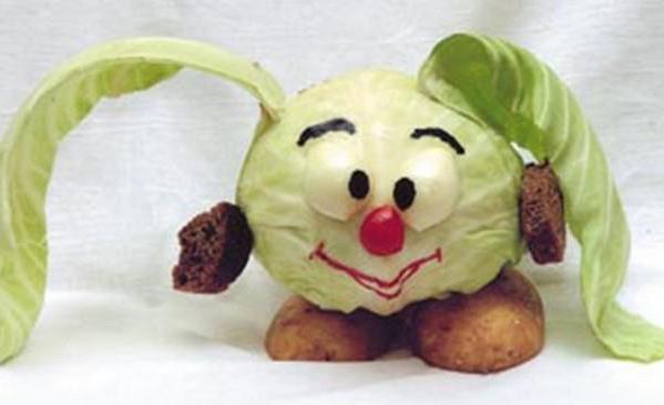 Поделки своими руками из капусты для детского сада