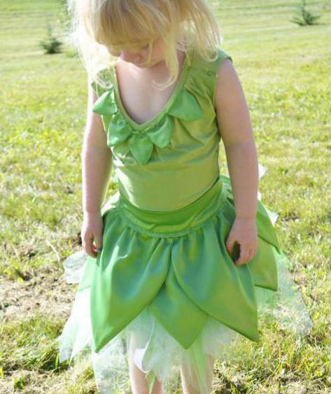 костюм феи динь динь для девочки