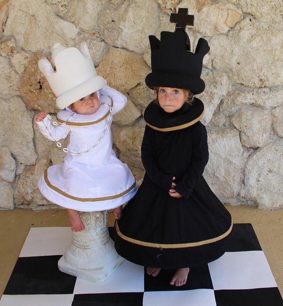 Костюм шахматной королевы для девочки своими руками 377