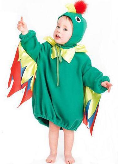 как сделать костюм попугая своими руками