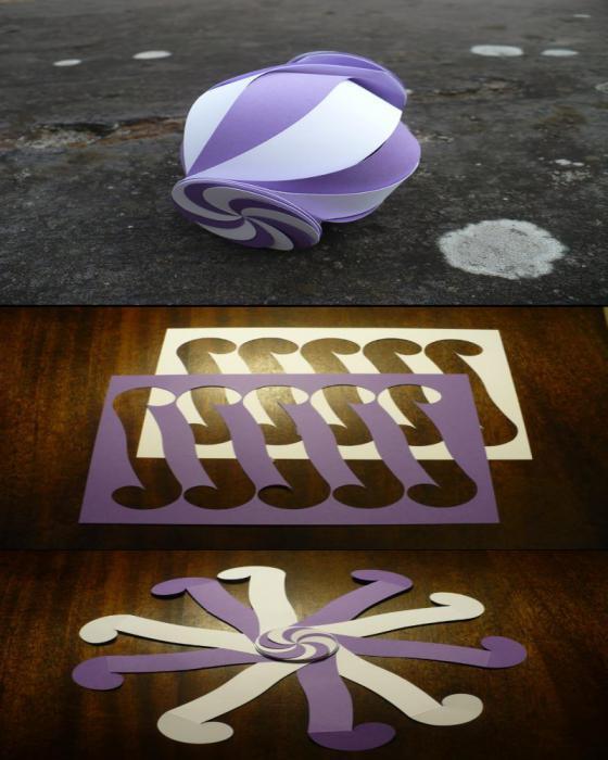 шкатулка сундук из бумаги