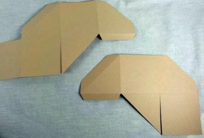 оригами шкатулка схема