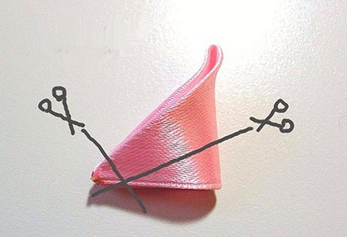 заколки и резинки для волос канзаши