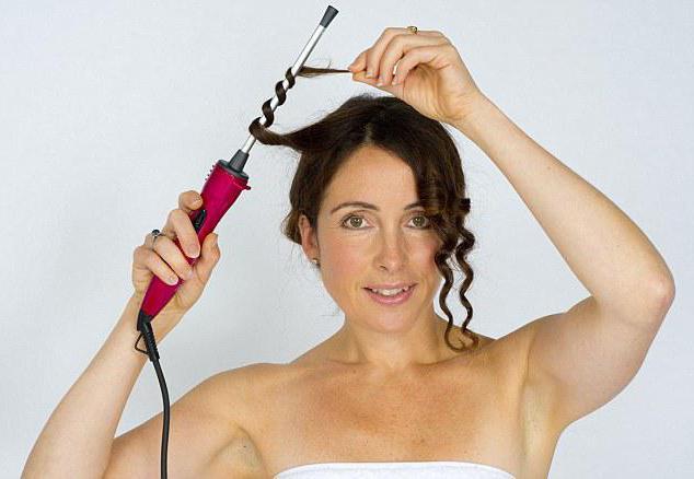 Укладка локоны на средние волосы