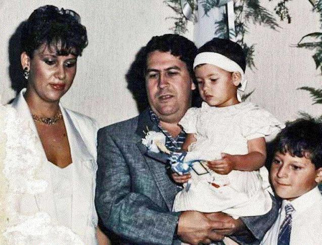 пабло эскобар семья фото
