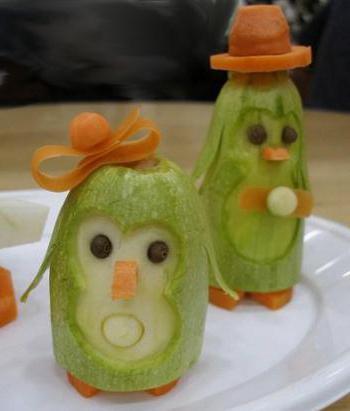 поделки из фруктов своими руками для детского