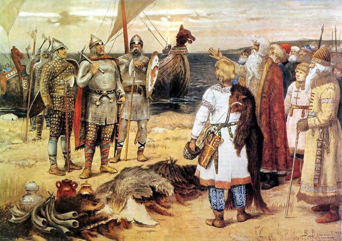 поход князя Олега на Киев 882