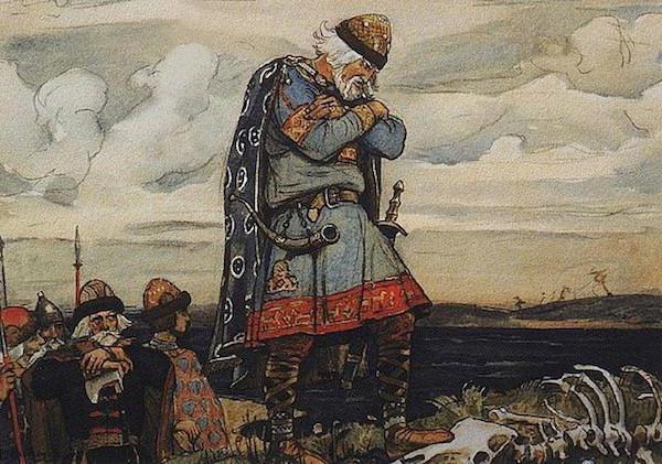 поход князя Олега на Киев и образование древнерусского государства