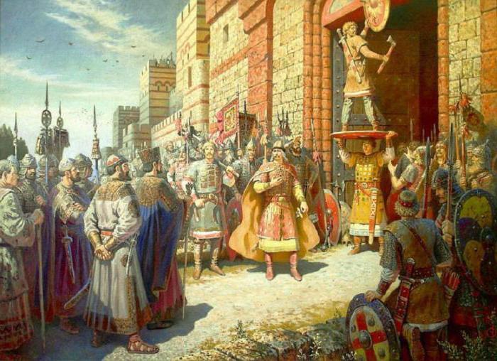 поход князя Олега на Киев