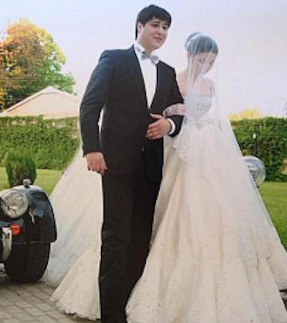 Диора Усманова тайно вышла замуж