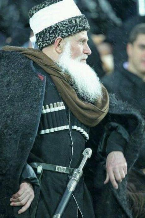 чеченский костюм мужской