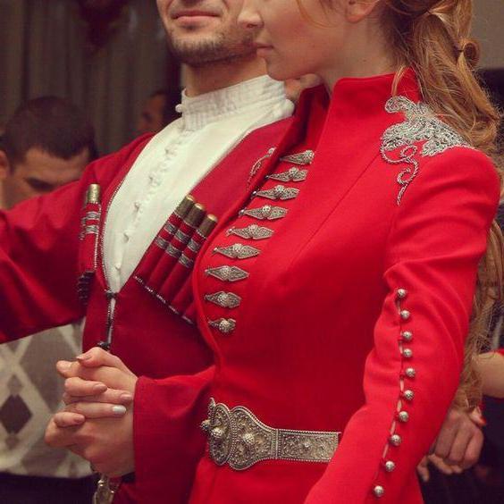 чеченская национальная одежда