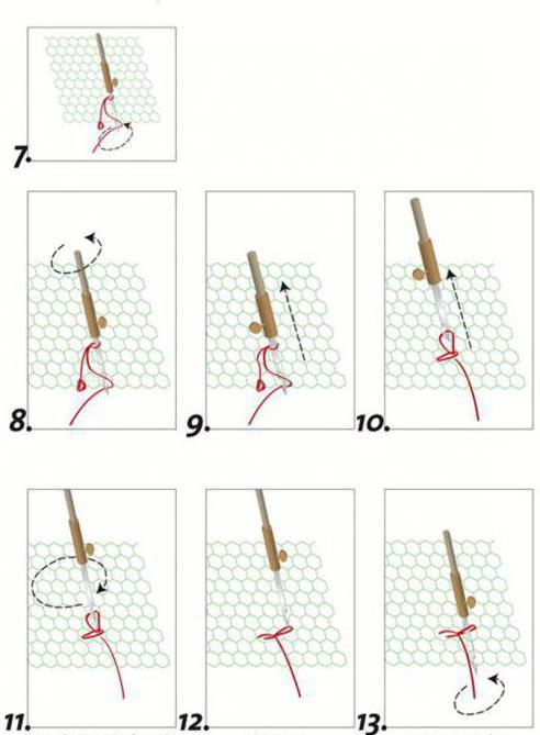 вышивка люневильская техника