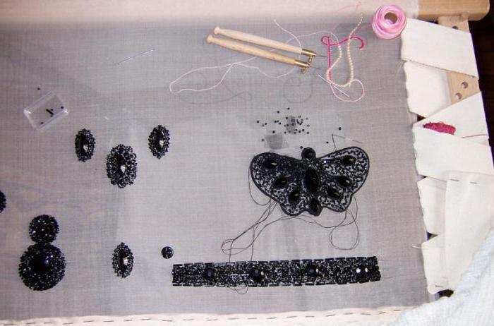 люневильская вышивка мастер класс