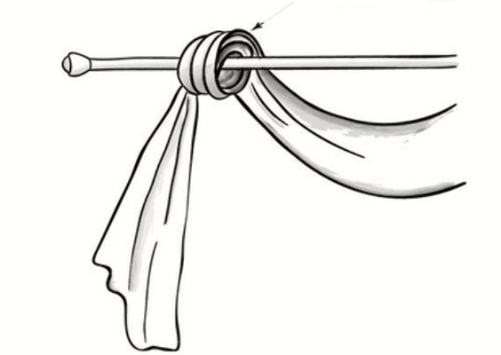 Как сшить тюль с ламбрекенами своими руками