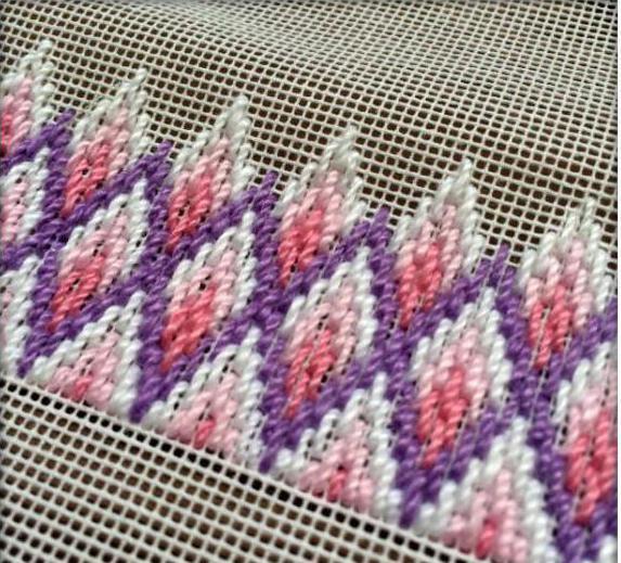 вышивка барджелло схемы