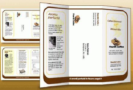 как сделать буклет в Publisher описание