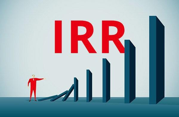 как рассчитать IRR вручную