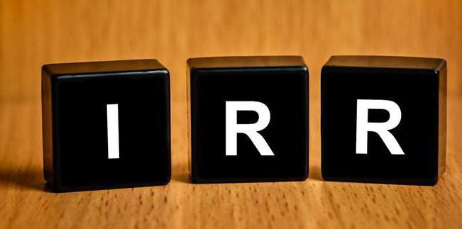 IRR что это такое и как рассчитать