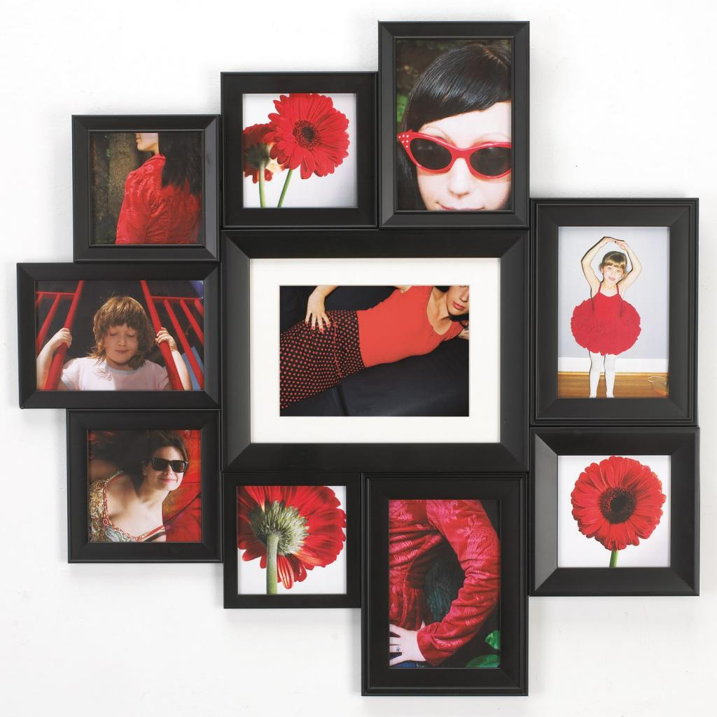 collage of photo frames