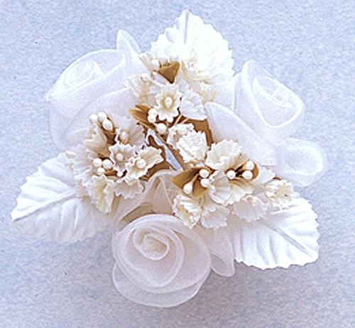 свадебный декор из органзы