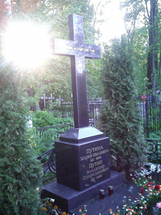 фото могилы брата путина на пескарёвском кладбище предоставляется