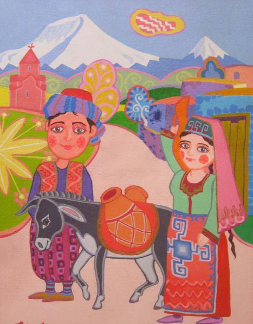 армянская сказка с картинками сэндвич вставь пластиковый