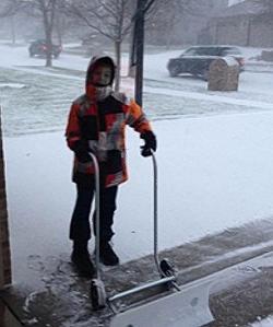 Как и из чего сделать скребок для снега своими руками фото 250