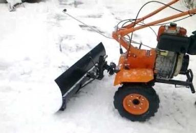 самодельный скребок для снега