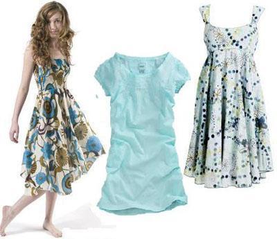 летние платья из натуральных тканей