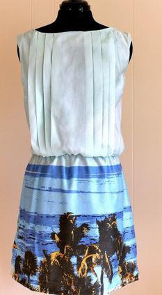 из какой ткани сшить летнее платье
