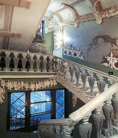 Киев Дом с химерами фото внутри