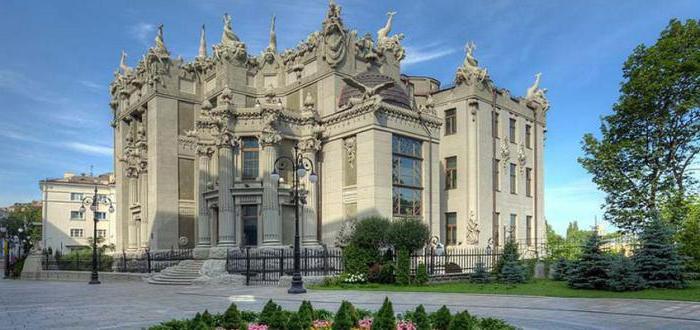 Дом с химерами Киев адрес