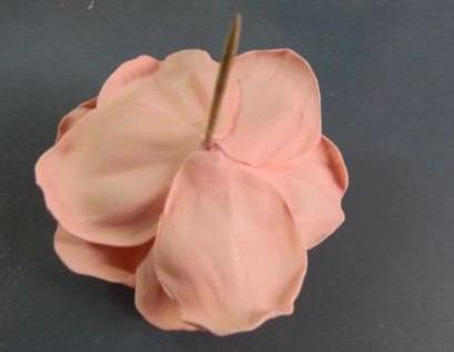 розы из фоамирана для начинающих
