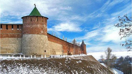 Нижній Новгород. Кремль – фортеця в центрі міста (фото)