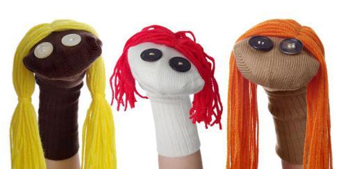 Кукольный театр своими руками из носка