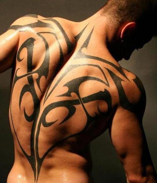 эскизы татуировок на спину мужские