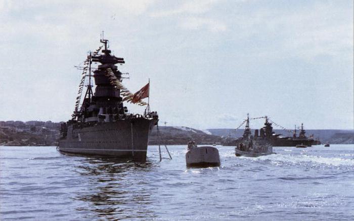 самый большой линкор СССР