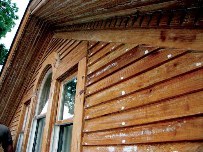чем отделать фасад деревянного дома