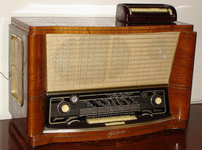 радиоприемники СССР фото