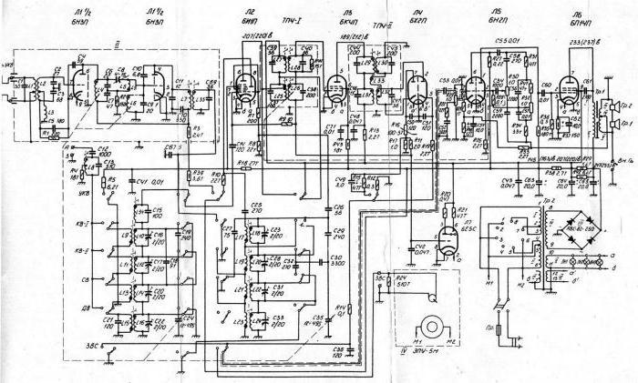 схемы радиоприемников СССР