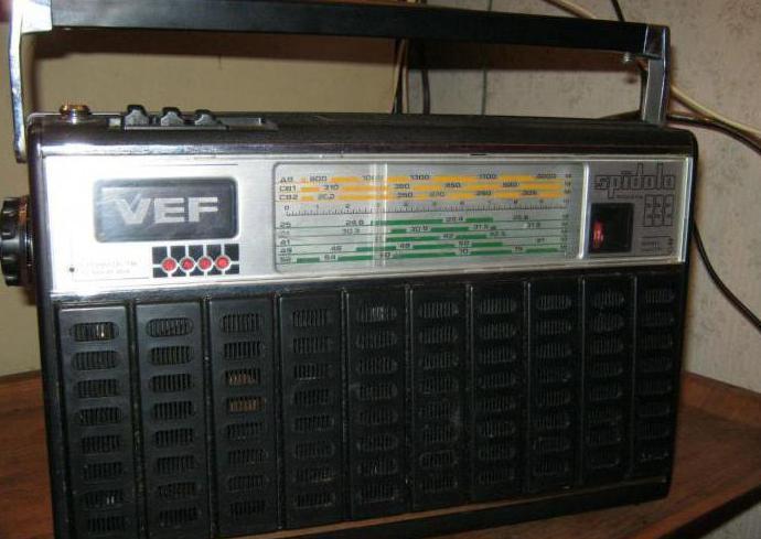 ламповые радиоприемники СССР